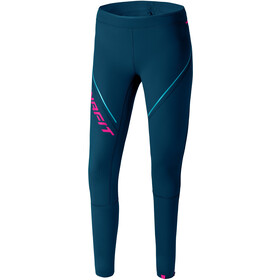 Dynafit Winter Running Tights Women petrol